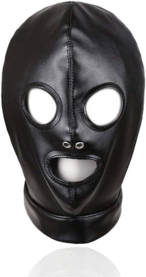 SM Full Face store Bondage Head Mask Adjustable Harness Fashionable with Isolatio