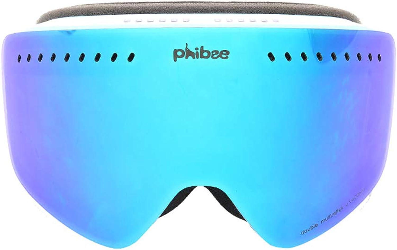 Aili Skibrille, Ski Brille Brillenträger Schneebrille Verspiegelt B07H7HQ6GD    Charakteristisch b343c0