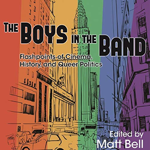 The Boys in the Band audiobook cover art