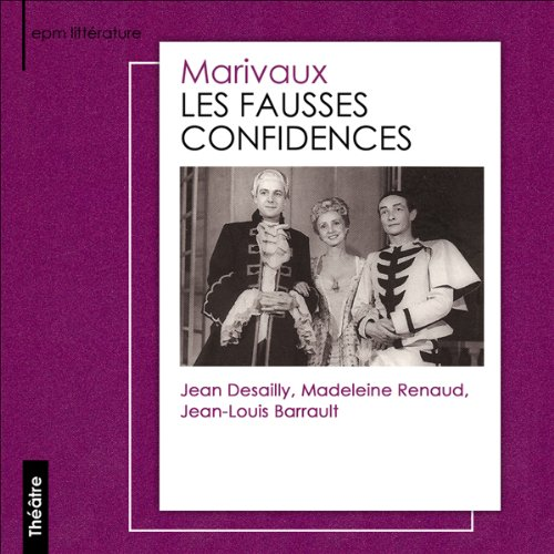 Les fausses confidences audiobook cover art