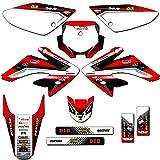 Team Racing Graphics kit compatible with Honda 2004-2010 CRF 80/100, ANALOG