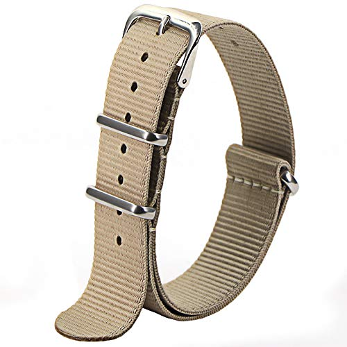 Correas De Reloj De Nylon 1pcs Strap 18mm 20mm 22mm Reloj de Reloj de Nylon Correa de Reloj a Prueba de Agua Correa Reloj (Band Color : Number 8)