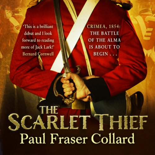 The Scarlet Thief audiobook cover art