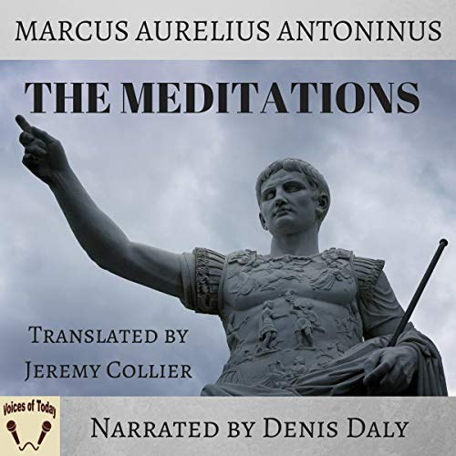 The Meditations audiobook cover art