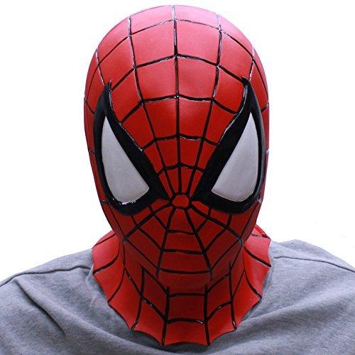 Spider-Man-Masque de protection visage complet en caoutchouc-Fabriqué au Japon
