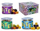 Supergarden BITES Snack-Box - Gesunder Snack Aus Gefriergetrockneten Früchten, Gemüse Und Beeren - 100% Rein Und Natürlich - Für Veganer Geeignet (Mix)