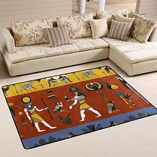 Rootti - Alfombra antideslizante para salón, comedor, dormitorio, cocina, pasillo, 200 x 150 cm
