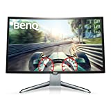 BenQ EX3200R 32 Inch FHD 144Hz Curved Gaming Monitor, 1800R, Low Blue Light, Flicker-free, HDMI,...