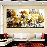 Estilo chino pintura en tinta de Lotus Wall Art Canvas Print For Living Room Bodegón Lotus Pintura Decoración para el hogar 40 * 80 cm