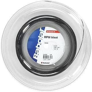 Babolat RPM Blast (18-1.20mm) Tennis String Half Reel (Black)