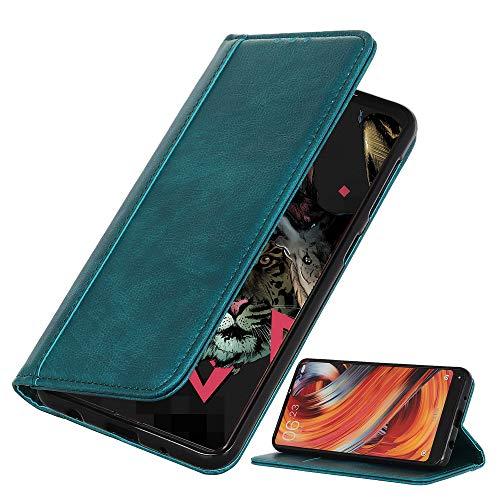 BRAND SET Coque pour Samsung Galaxy M11/A11 Couverture de Premium en Similicuir de Style Portefeuille avec Verrou Magnétique de Sécurité et Fonction de Support Étui pour Galaxy M11/A11(Vert)
