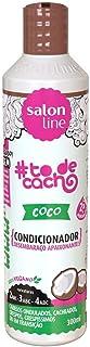 Salon Line Condicionador Uso Diário  300ml To de Cacho, Coco