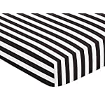 Arrow Print Fitted Crib Sheet for Black and White Fox Collection Baby/Toddler Bedding Set Collection