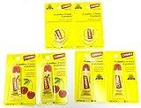 6 Pack Combo - 2 Pack Original Lip Balm(External Analgesic) + 2 Pack Cherry Lip Balm (Sunscreen) + 2 Pack Original Lip Balm