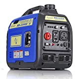 Hudson Motors 3300-Watt Super Quiet Portable Inverter Generator, Gas Powered, CARB Compliant, Eco-Mode Feature, Ultra Lightweight for Backup Home Use & Camping