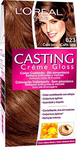 L'Oréal Paris Coloración Sin Amoniaco Casting Créme Gloss 623 Café Latte