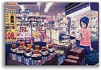 Tuanzi ジグソーパズル 日本のアニメ店パズル 300ピース 500ピース1000ピース大人の子供の教育減圧ゲーム家の装飾レジャーエンターテインメント楽しいパズルアニメ漫画パズル最高の贈り物(26cmx38cm)(38cmx52cm)(50cmx75cm)