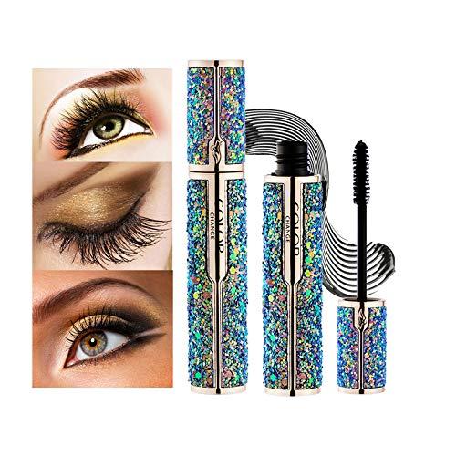 Mimore Mascara 4D,Stellato Professionale Impermeabile Makeu