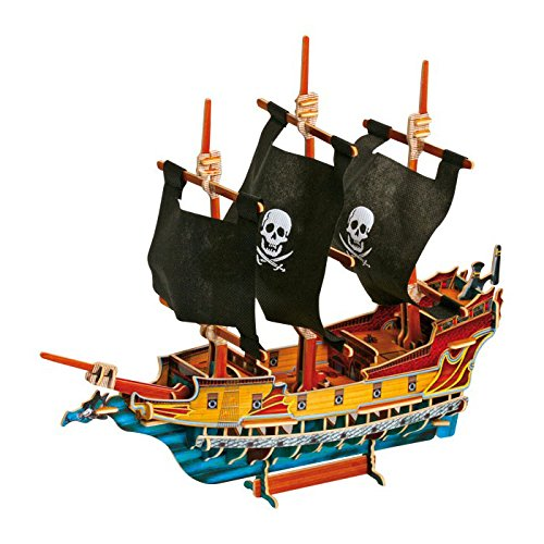 Small foot company - 1404 - Puzzle 3D - Bateau De Pirates