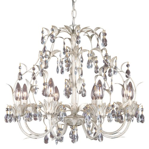 Laura Ashley Lavenham Wall Lights : Laura Ashley HLVH0873 Lavenham 8-Light Chandelier, Gilded Patina - Linda J. Getzer