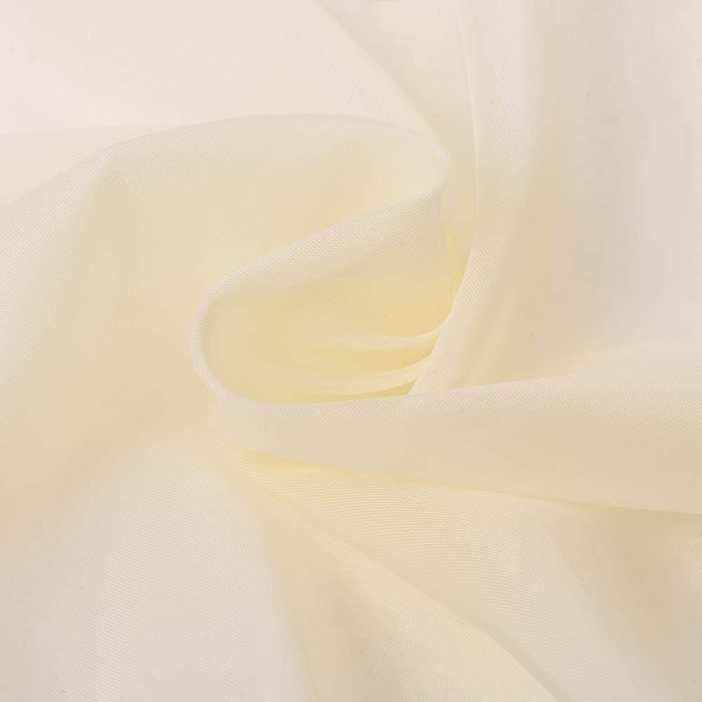 L x A Arcobaleno PONY DANCE Tende Mantovane per Matrimonio Finestre Voile Tende Decorative per Casa Tenda Sottile Moderna Tende Soggiorno Salone Camera 152 x 548 cm 1 Pannello