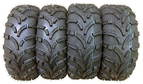 Full Set 04-17 Honda Fourtrax Rancher TRX400 420 ATV Tires 24x8-12 & 24x10-11