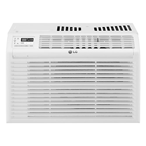 LG LW6017R 6,000 BTU 115V Window Air Conditioner, White