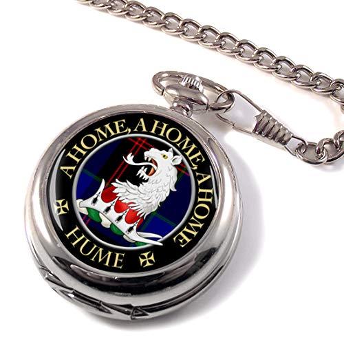 ヒュームスコットランドClan Crestフルハンターポケット時計