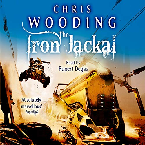 The Iron Jackal audiobook cover art