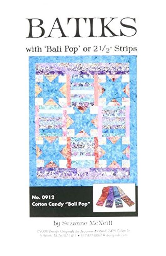 Design Originals DO912 Bali Pop Strip Quilting Template, Cotton Candy