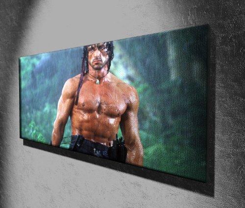 Rambo Leinwand-Panorama, bereit zum Aufhängen, 127x51cm