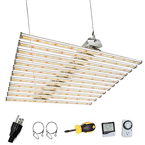 Dommia ETL LED Grow Light for Indoor Plants DM-6000, Full Spectrum Actual Power 650W, 40x40 Inches...