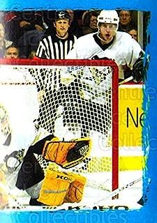 (CI) Dick Tarnstrom, Marc-Andre Fleury, Pittsburgh Penguins Hockey Card 2003-04 Panini Stickers 152 Dick Tarnstrom, Marc-Andre Fleury, Pittsburgh Penguins