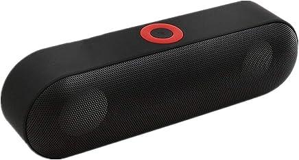 SHA Altoparlante Portatile Bluetooth Altoparlante Portatile Altoparlante Stereo 3D Surround Senza Fili Altoparlanti Tf Aux Altoparlante Bluetooth Mic 190Mm * 55Mm * 60M Nero - Trova i prezzi più bassi