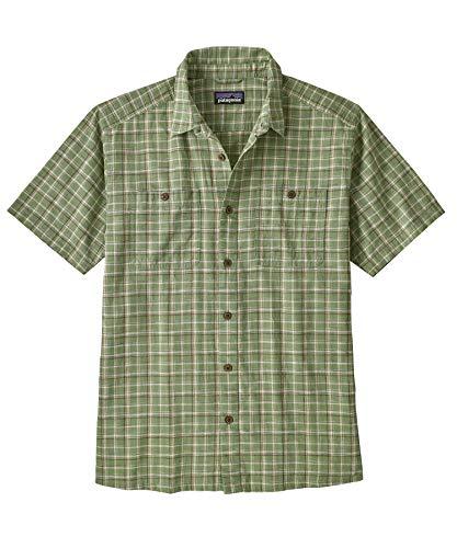 Patagonia M's Back Step T-Shirt pour Homme S Goshawk Dobby : Pumice
