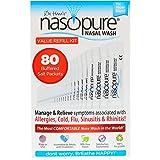 Dr. Hana's Nasopure Nasal Wash   Value Refill Kit   The Nicer Neti Pot - Nasal Symptoms of Allergies, Cold, Flu, Sinusitis - Fast All Natural Relief - Nasal Irrigation/Nasal Spray/Nasal Hygiene