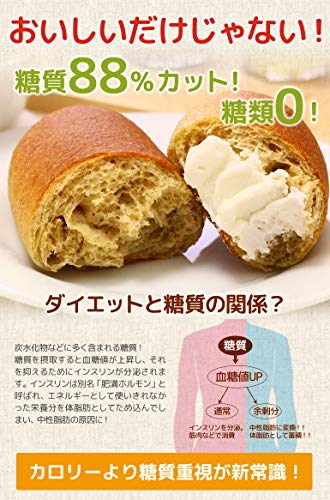 OTOGINO『低糖質ふすま粉パン』
