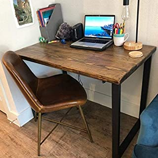 Best reclaimed wood l shaped desk Reviews