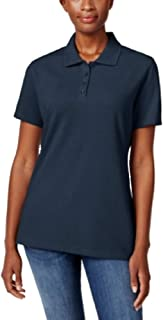 Short-Sleeve Polo Top