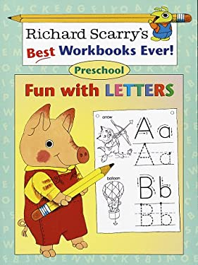 Fun with Letters: Preschool (Richard Scarry Workbooks)