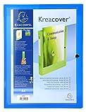 Exacompta Kreacover PP Press Box per filati, A4, 40mm Spine - Blu