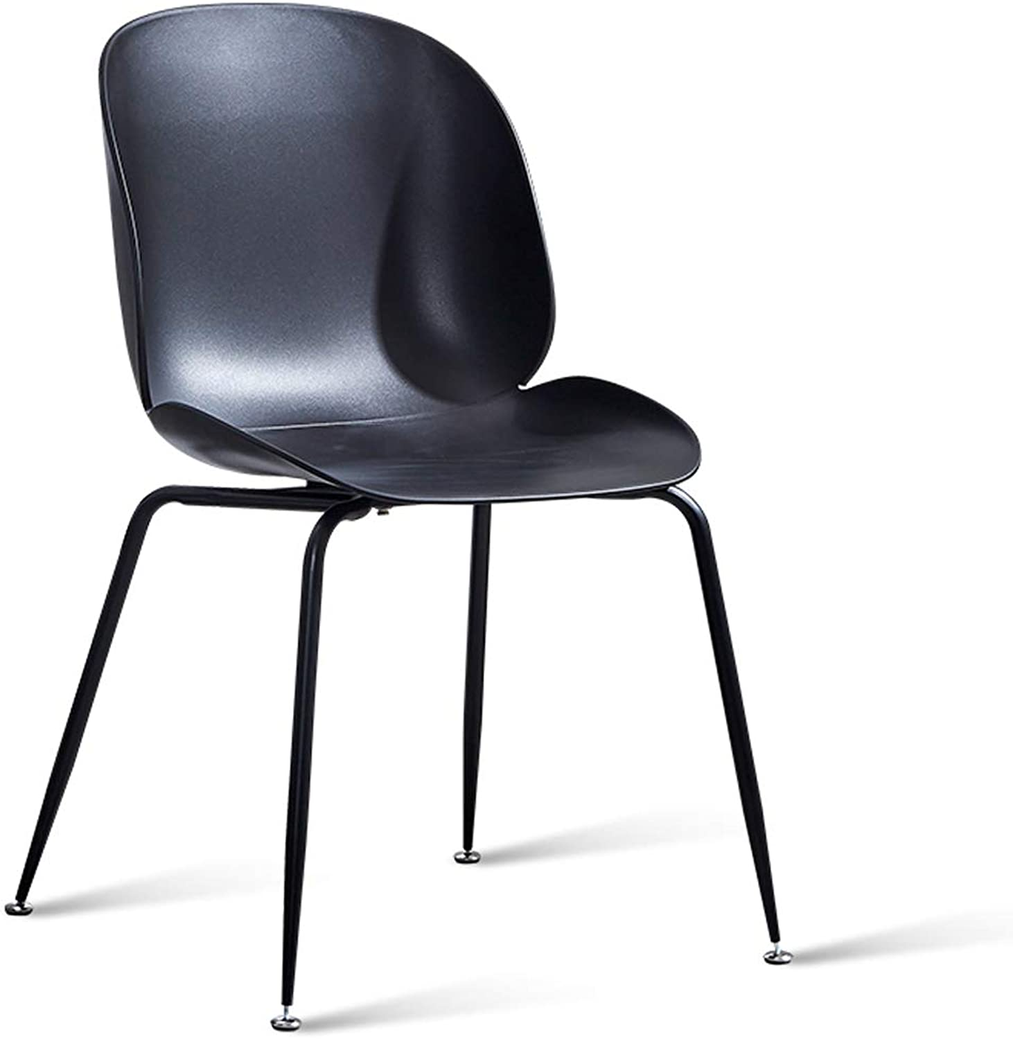 LRW Nordic Chairs, Modern Dining Chairs, Home Desks, Chairs, Leisure Backrest Stools, Black