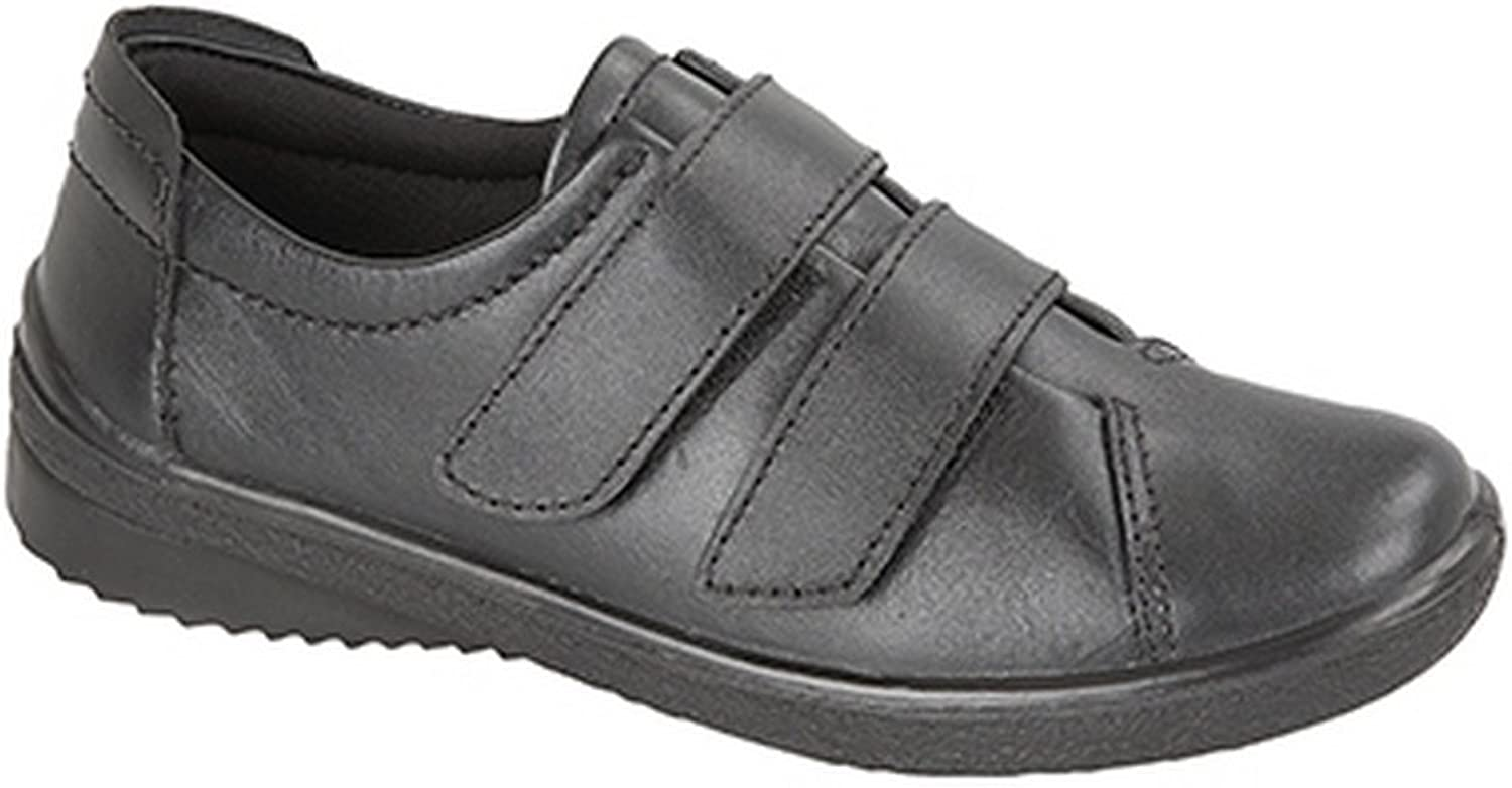 Mod Comfys Womens Ladies 2 Bar Touch Fastening Leisure shoes