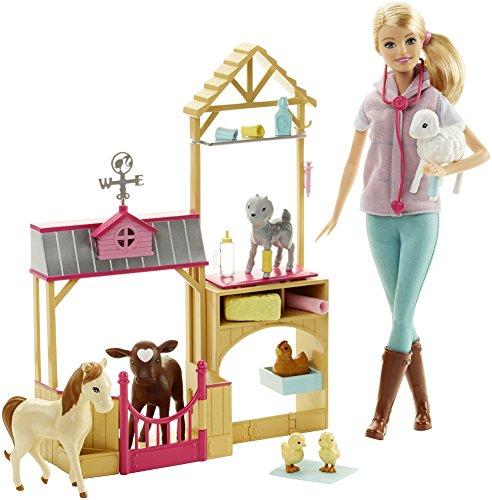 Barbie - Muñeca Barbie, Granja Veterinaria