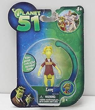 Planet 51 Movie Toy Mini Figure Lem [Toy]