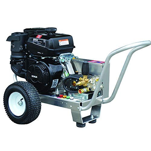 PressurePro Eagle Series Cold Water Belt Drive Pressure Washer, 4200 PSI, 4.0 GPM, Kohler Engine, Viper Pump