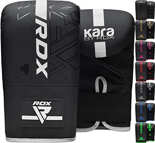 RDX Guantes de Boxeo para Entrenamiento Puñetazos, Maya Hide Cuero Kara Mitones para Saco Boxeo, Kick Boxing, Sparring, Muay Thai, Artes Marciales, MMA, Guantillas para Combate Training, Manop