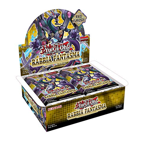 YU-GI-OH!- Trading Card Game Rabbia Fantasma-Box (24 Buste), 162651