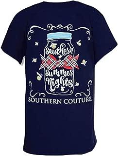 SC Classic Summer Nights Fireflies Womens Classic Fit T-Shirt - Navy