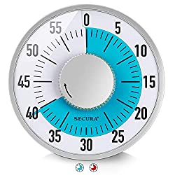 Secura 60-Minute Visual Timer (Blue)